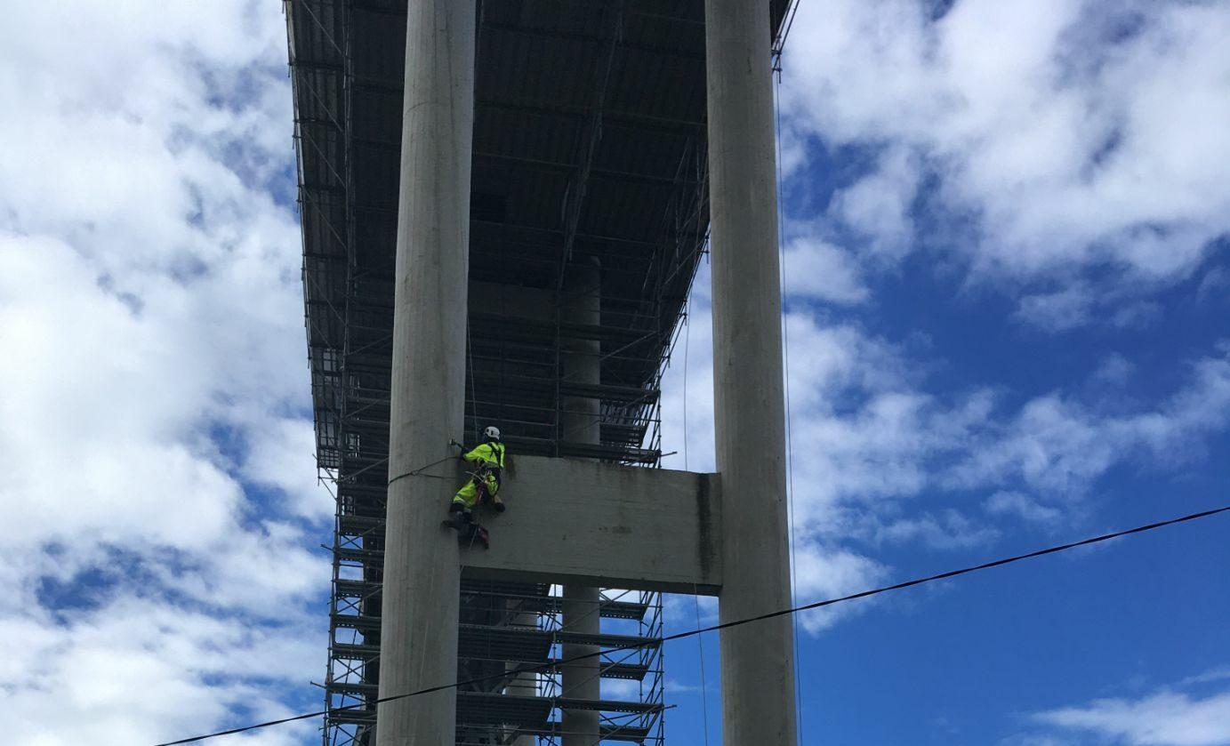 Montage på bro för Consolvo AS