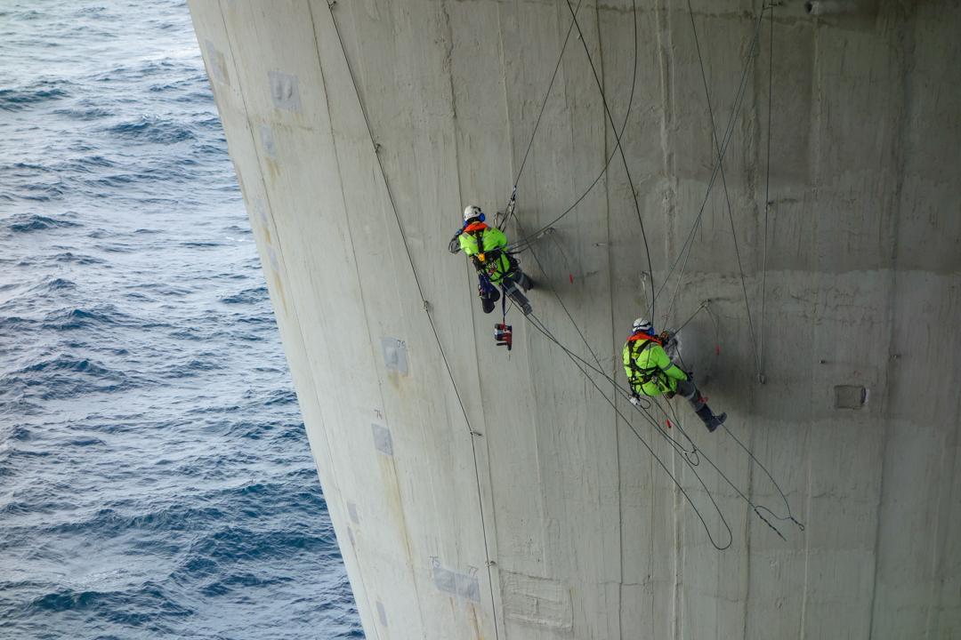 Underhåll av betong för Equinor